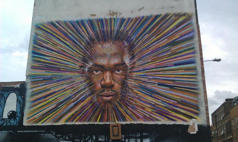 Usain Bolt Street Art