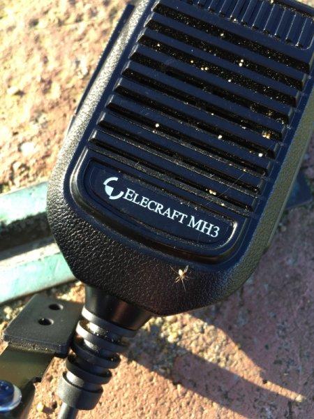 Hazards of /p: Spider on KX3 Mic