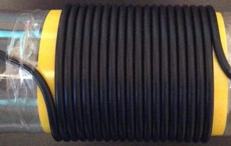 RG8 Coils on former