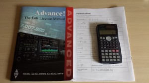 Studying for the advanced license