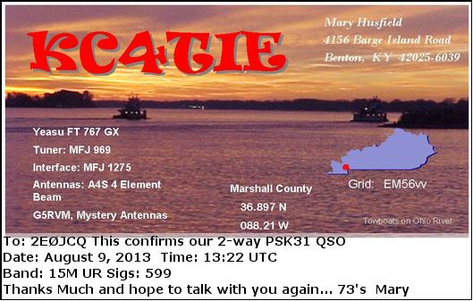 KC4TIE eQSL Card