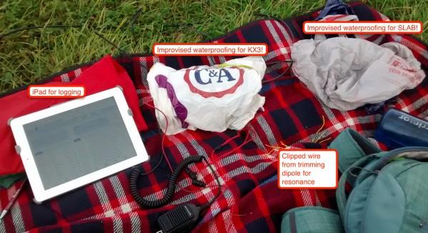 Portable HF setup for Wendover Woods