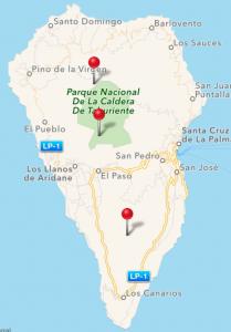 La Palma SOTA Summits