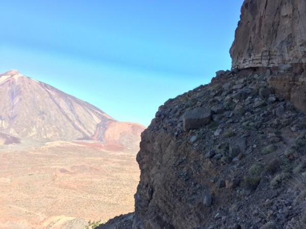 That narrow ledge is where I'm headed!