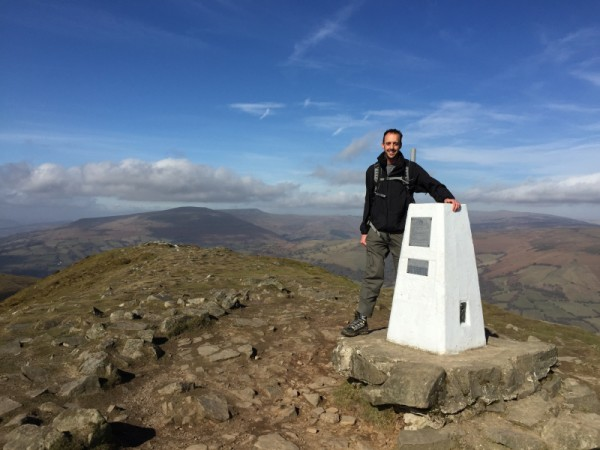 Me at the Trig Point