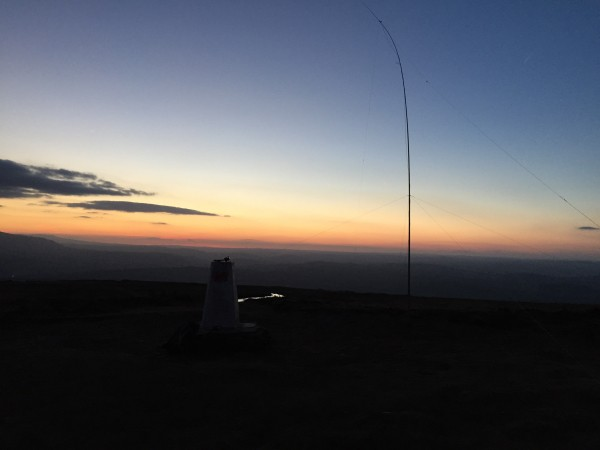 Dipole in the inky twilight