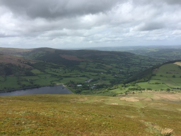 View onto Reservoir from Summit