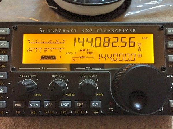2M Ready to Rock & Roll on the KX3