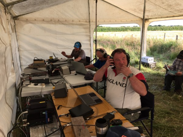 VHF Field Day 2015 with the Drowned Rats Contest Group
