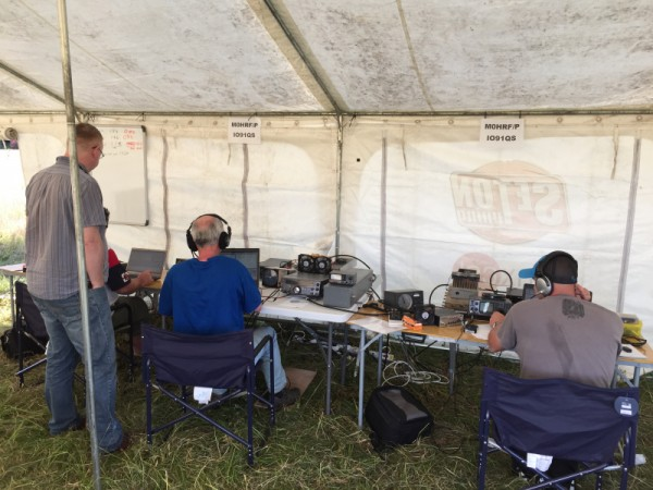 Racking up the contacts on 6m, 2m & 70cm stations