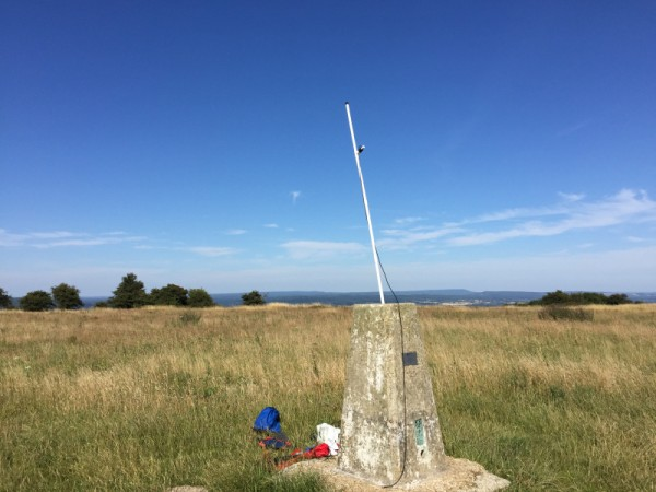 The Trigpoint setup and 2m MFD dipole