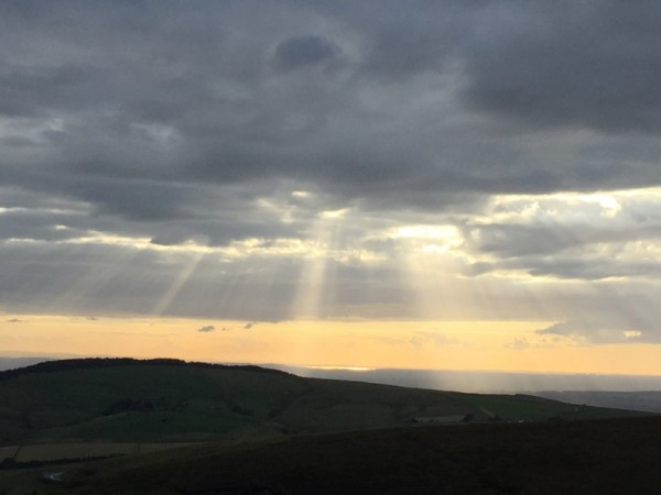 View from Shining Tor