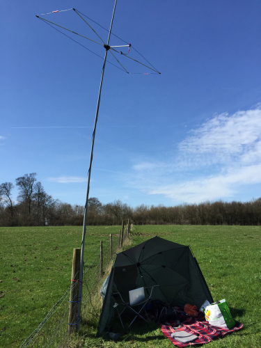 Using the SOTABeams SB6 During the RSGB 6m AFS