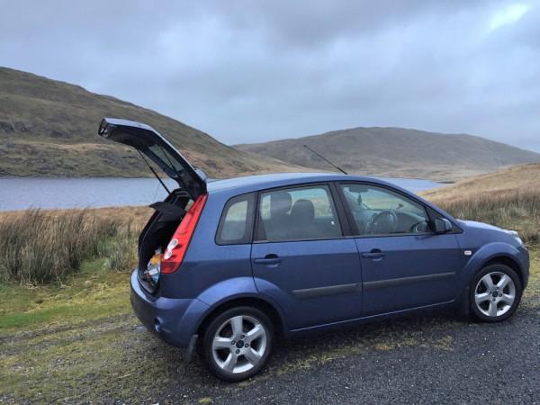 Parked Up at Reservoir