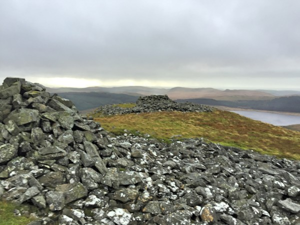 Summit Cairns on Drosgol