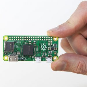Raspberry Pi Zero - yes, it's really that small!