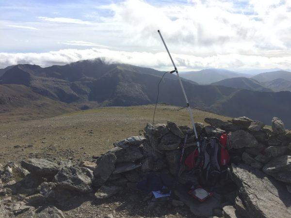 View of Snowdon from Y Garn Summit