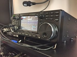 Icom 7300 - Small and sleek bag of tricks