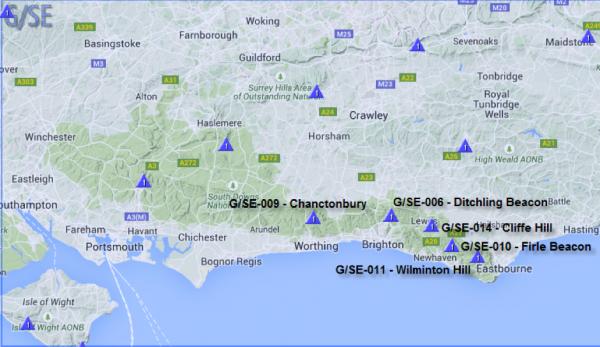 Sussex 5 summits