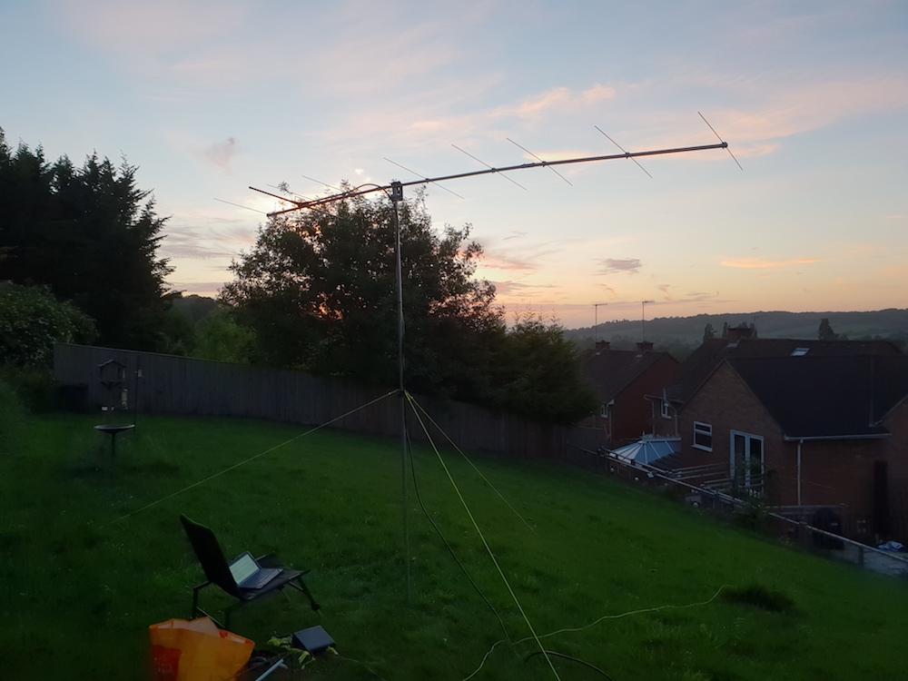 2m setup in the back garden