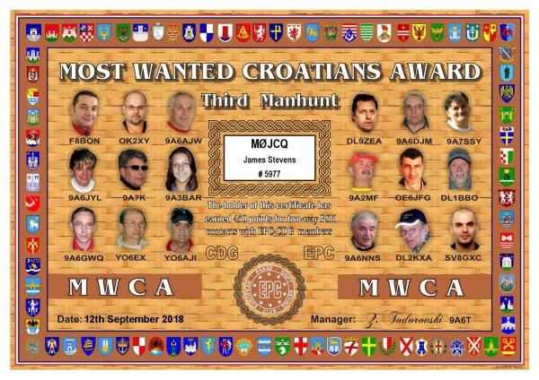 Most Wanted Croatians Award - Third Manhunt