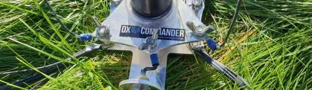 Building the DX Commander Lite multi-band vertical