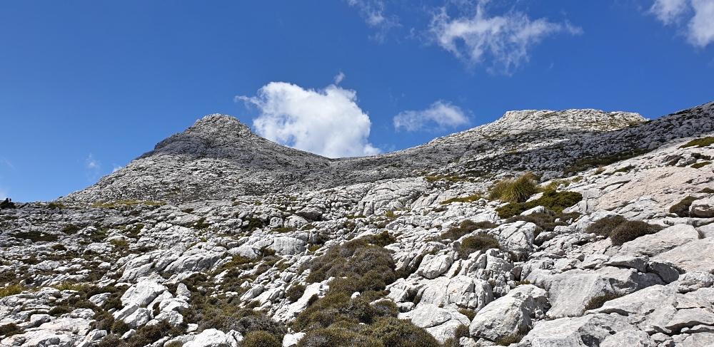 Ascent up to Massanella