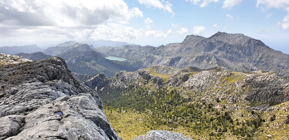 View from the top of Massanella